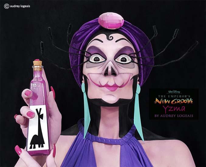 Make up artist μεταμορφώνει ανθρώπους σε κακούς της Disney χρησιμοποιώντας το μακιγιάζ (6)
