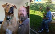 Όταν αυτός ο άνδρας έχασε 22 κιλά, ο σκύλος του δεν τον αναγνώρισε...