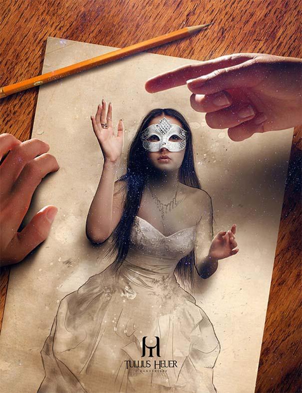 Όταν η τέχνη της φωτογραφίας συναντά τα σκίτσα με μολύβι (2)