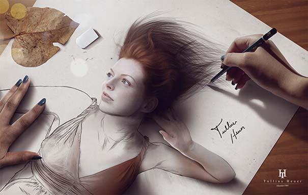 Όταν η τέχνη της φωτογραφίας συναντά τα σκίτσα με μολύβι (9)