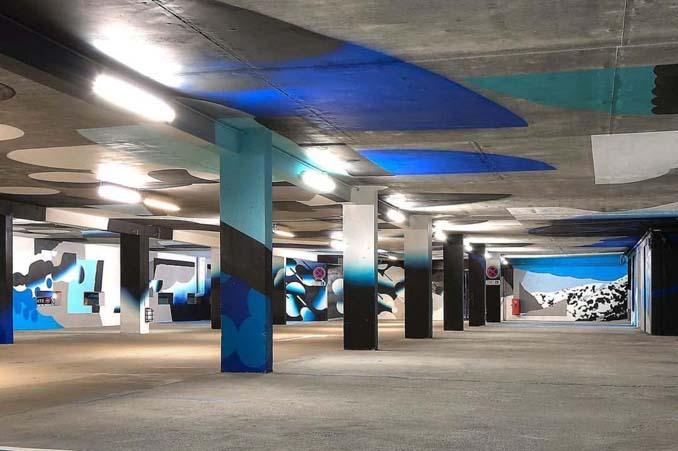 Parking αυτοκινήτων μετατράπηκε σε μουσείο Street Art (8)