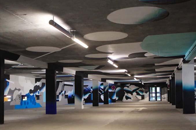Parking αυτοκινήτων μετατράπηκε σε μουσείο Street Art (9)