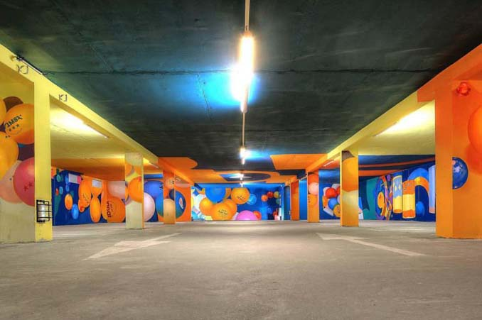 Parking αυτοκινήτων μετατράπηκε σε μουσείο Street Art (11)