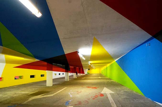 Parking αυτοκινήτων μετατράπηκε σε μουσείο Street Art (13)