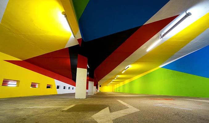 Parking αυτοκινήτων μετατράπηκε σε μουσείο Street Art (15)
