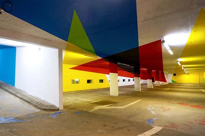 Parking αυτοκινήτων μετατράπηκε σε μουσείο Street Art (16)