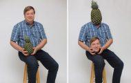 Περήφανος πατέρας ποζάρει με ανανά και γίνεται έμπνευση για τα Photoshop trolls