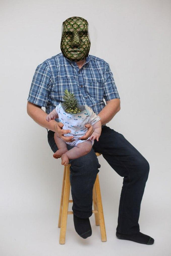 Περήφανος πατέρας ποζάρει με ανανά και γίνεται έμπνευση για τα Photoshop trolls (6)