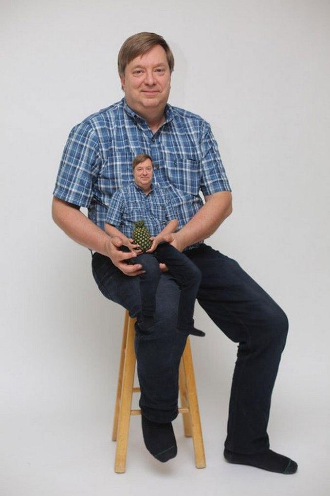Περήφανος πατέρας ποζάρει με ανανά και γίνεται έμπνευση για τα Photoshop trolls (3)