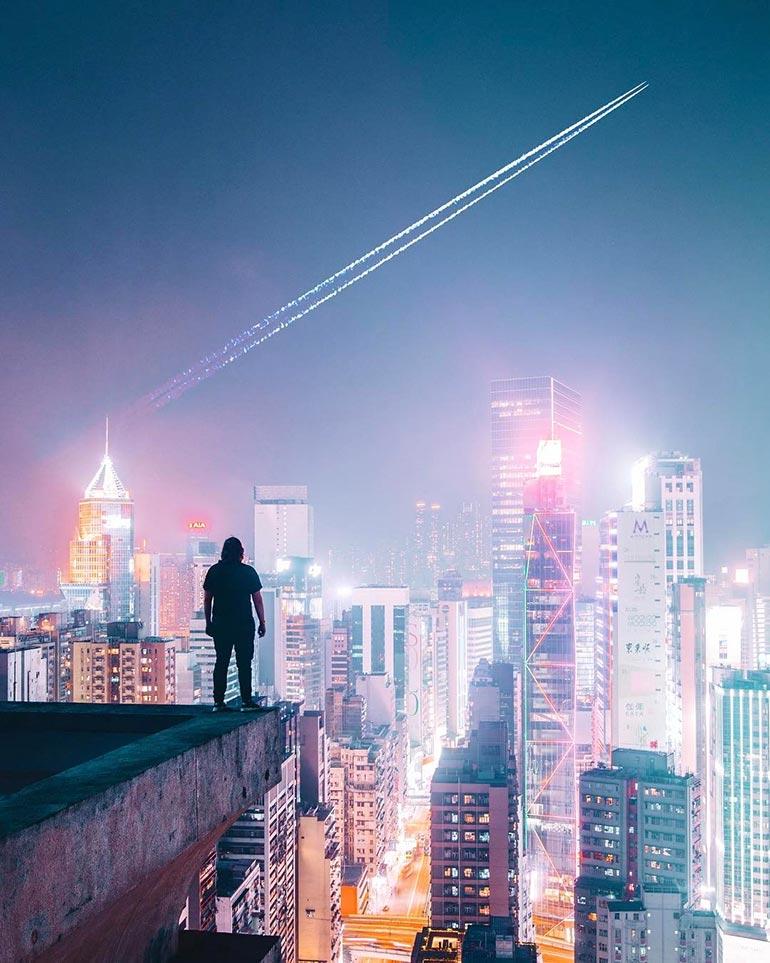 Στο Χονγκ Κονγκ, η πόλη δεν κοιμάται ποτέ | Φωτογραφία της ημέρας