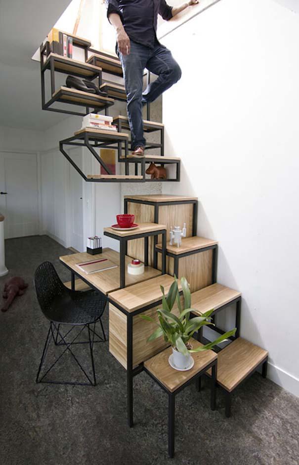 Πρωτότυπες σκάλες για ένα μοντέρνο σπίτι (2)