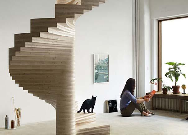 Πρωτότυπες σκάλες για ένα μοντέρνο σπίτι (3)