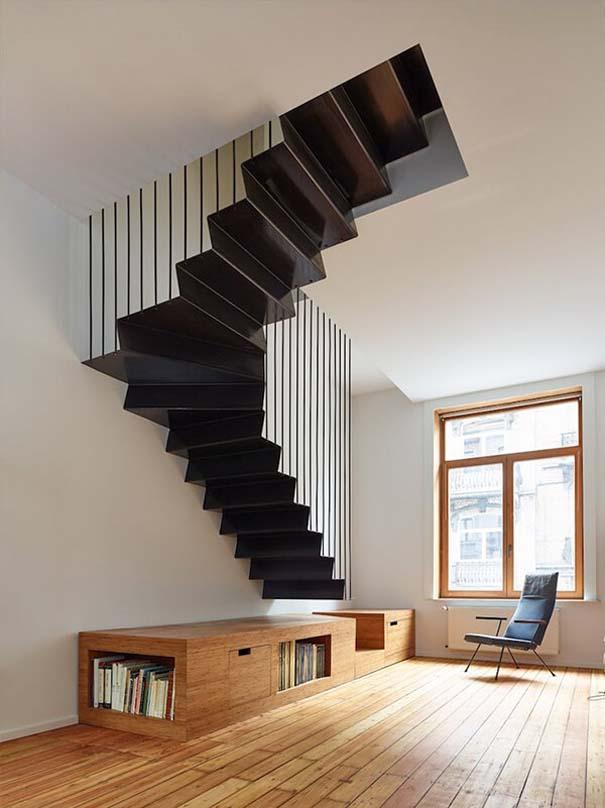 Πρωτότυπες σκάλες για ένα μοντέρνο σπίτι (4)