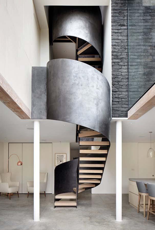 Πρωτότυπες σκάλες για ένα μοντέρνο σπίτι (5)