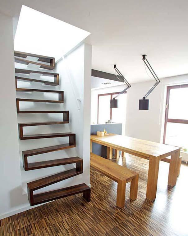 Πρωτότυπες σκάλες για ένα μοντέρνο σπίτι (7)