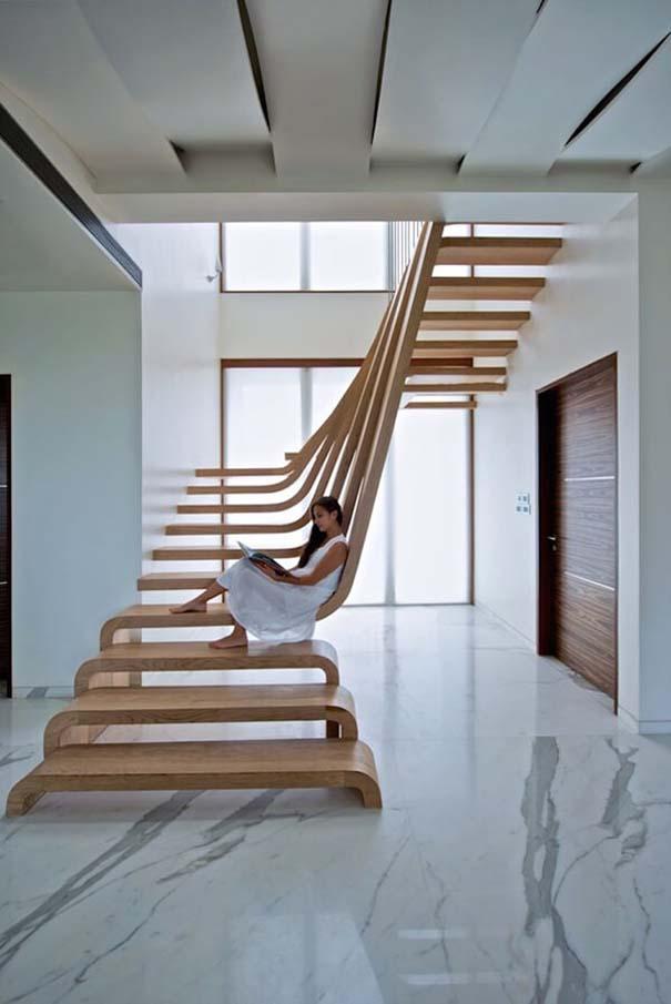Πρωτότυπες σκάλες για ένα μοντέρνο σπίτι (11)