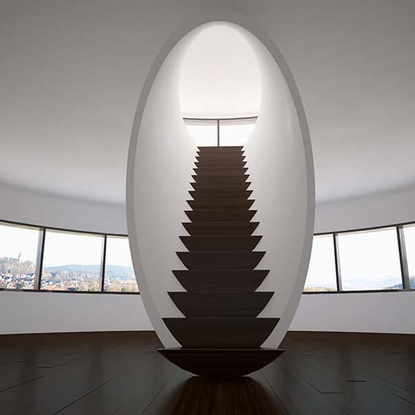 Πρωτότυπες σκάλες για ένα μοντέρνο σπίτι (18)