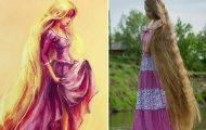 Η Ραπουνζέλ από τη Ρωσία που έχει 220.000 θαυμαστές στο Instagram