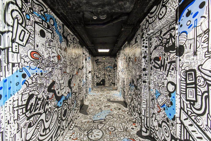 Σχολείο ζήτησε από 100 street artists να το βάψουν πριν ανακαινιστεί και το αποτέλεσμα είναι απίστευτο (4)