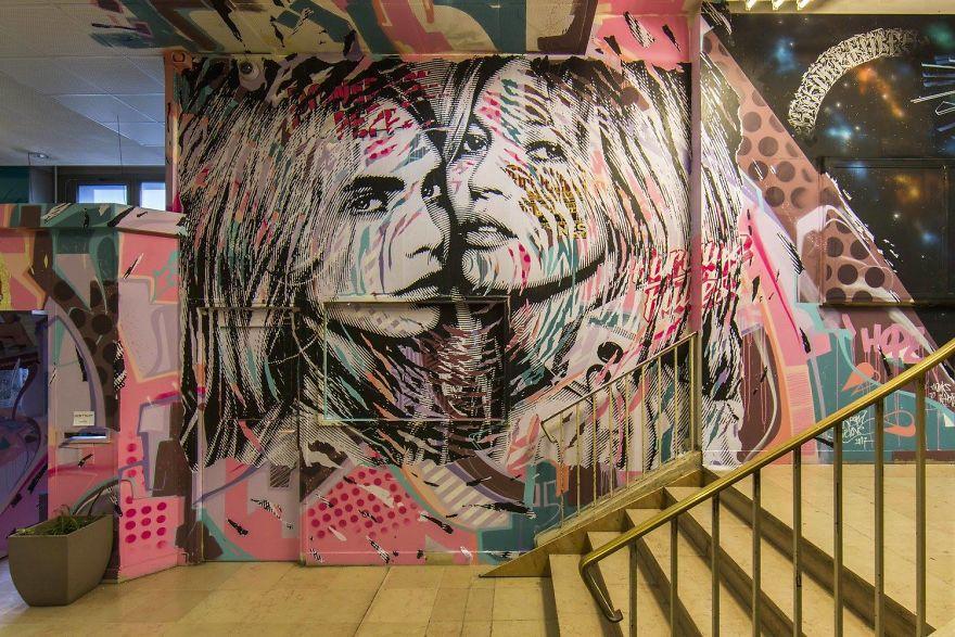 Σχολείο ζήτησε από 100 street artists να το βάψουν πριν ανακαινιστεί και το αποτέλεσμα είναι απίστευτο (6)