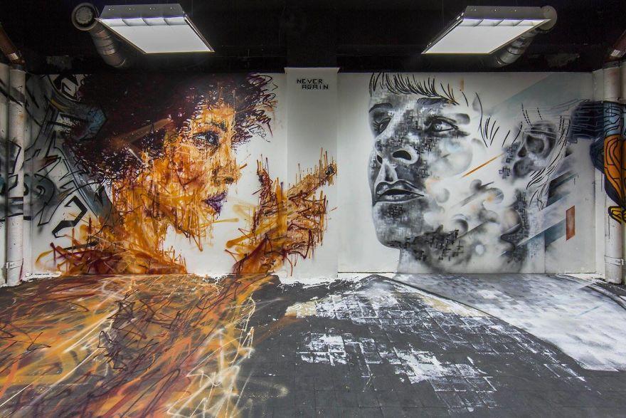 Σχολείο ζήτησε από 100 street artists να το βάψουν πριν ανακαινιστεί και το αποτέλεσμα είναι απίστευτο (7)