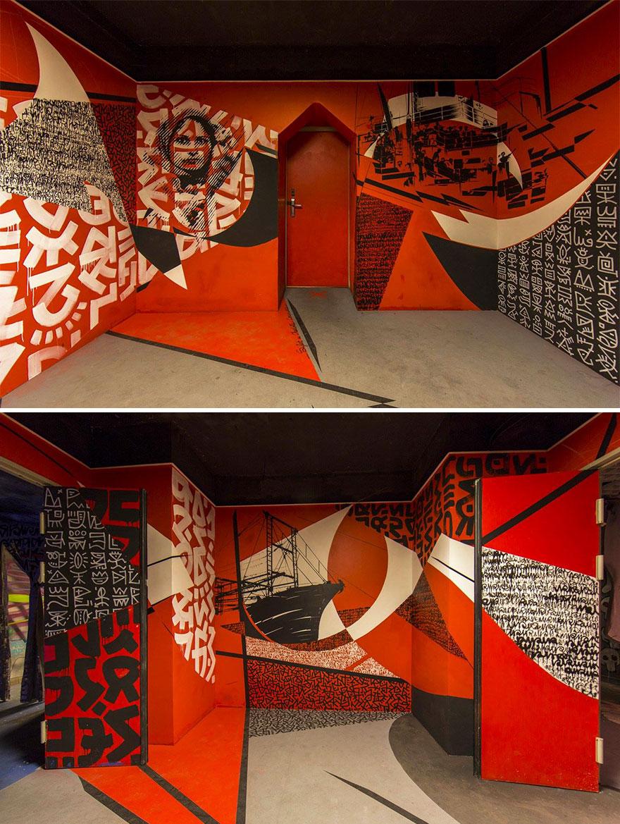 Σχολείο ζήτησε από 100 street artists να το βάψουν πριν ανακαινιστεί και το αποτέλεσμα είναι απίστευτο (9)