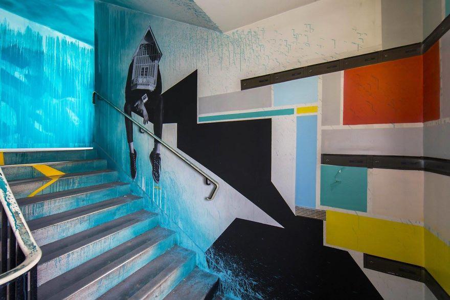 Σχολείο ζήτησε από 100 street artists να το βάψουν πριν ανακαινιστεί και το αποτέλεσμα είναι απίστευτο (12)