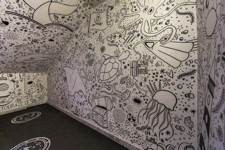 Σχολείο ζήτησε από 100 street artists να το βάψουν πριν ανακαινιστεί και το αποτέλεσμα είναι απίστευτο (15)