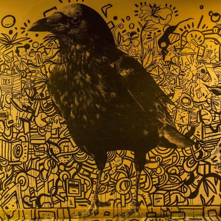 Σχολείο ζήτησε από 100 street artists να το βάψουν πριν ανακαινιστεί και το αποτέλεσμα είναι απίστευτο (20)
