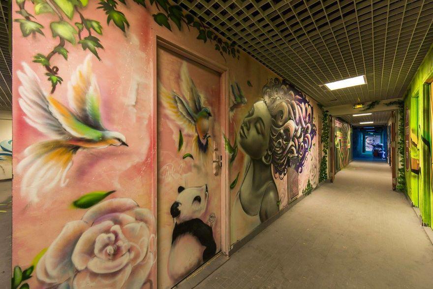 Σχολείο ζήτησε από 100 street artists να το βάψουν πριν ανακαινιστεί και το αποτέλεσμα είναι απίστευτο (21)