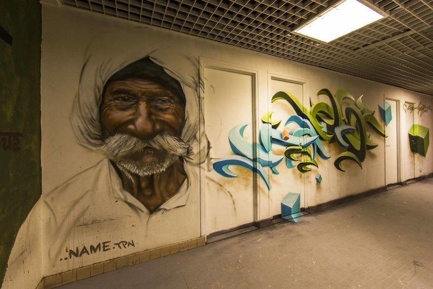 Σχολείο ζήτησε από 100 street artists να το βάψουν πριν ανακαινιστεί και το αποτέλεσμα είναι απίστευτο (23)