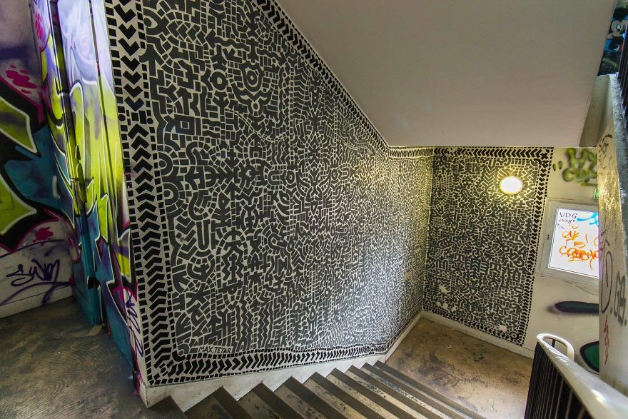 Σχολείο ζήτησε από 100 street artists να το βάψουν πριν ανακαινιστεί και το αποτέλεσμα είναι απίστευτο (25)