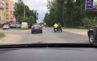 Ένα τέτοιο σκηνικό μπορεί να συναντήσεις μόνο στους δρόμους της Ρωσίας