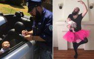 Τρελός μπαμπάς και η 9 μηνών κόρη του σε ξεκαρδιστικές φωτογραφίες