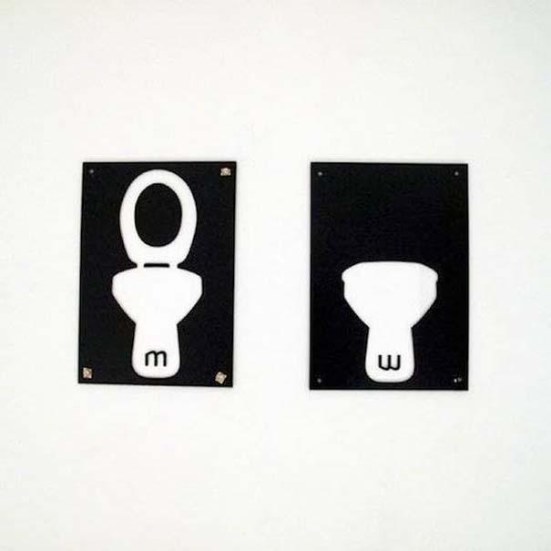 Χωρίζοντας τις ανδρικές και γυναικείες δημόσιες τουαλέτες με φαντασία (11)