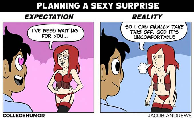 5 αστείες ρομαντικές στιγμές όταν οι προσδοκίες συναντούν την πραγματικότητα (5)