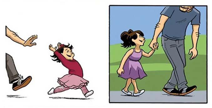 Αυτό το κόμικ σχετικά με το πώς μεγαλώνουμε θα αλλάξει τον τρόπο που βλέπετε τη ζωή (3)