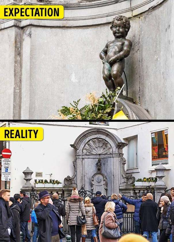 Διάσημα τουριστικά αξιοθέατα: Προσδοκίες vs πραγματικότητα (1)