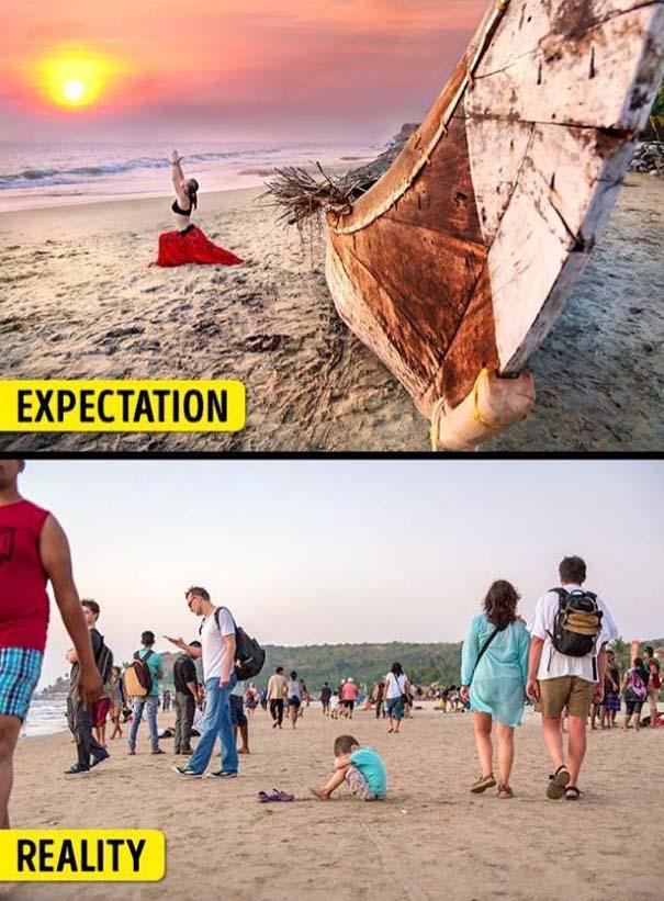 Διάσημα τουριστικά αξιοθέατα: Προσδοκίες vs πραγματικότητα (2)