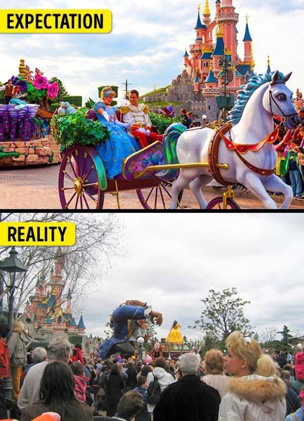 Διάσημα τουριστικά αξιοθέατα: Προσδοκίες vs πραγματικότητα (3)