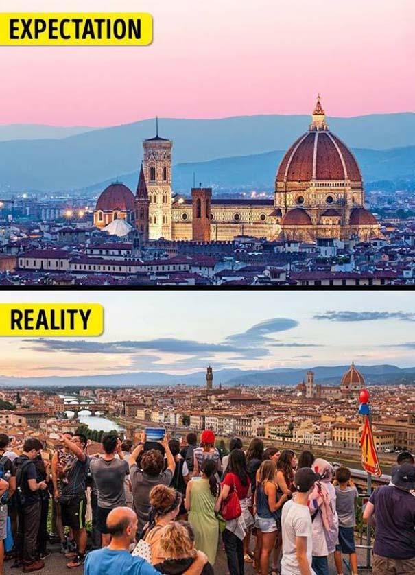 Διάσημα τουριστικά αξιοθέατα: Προσδοκίες vs πραγματικότητα (4)