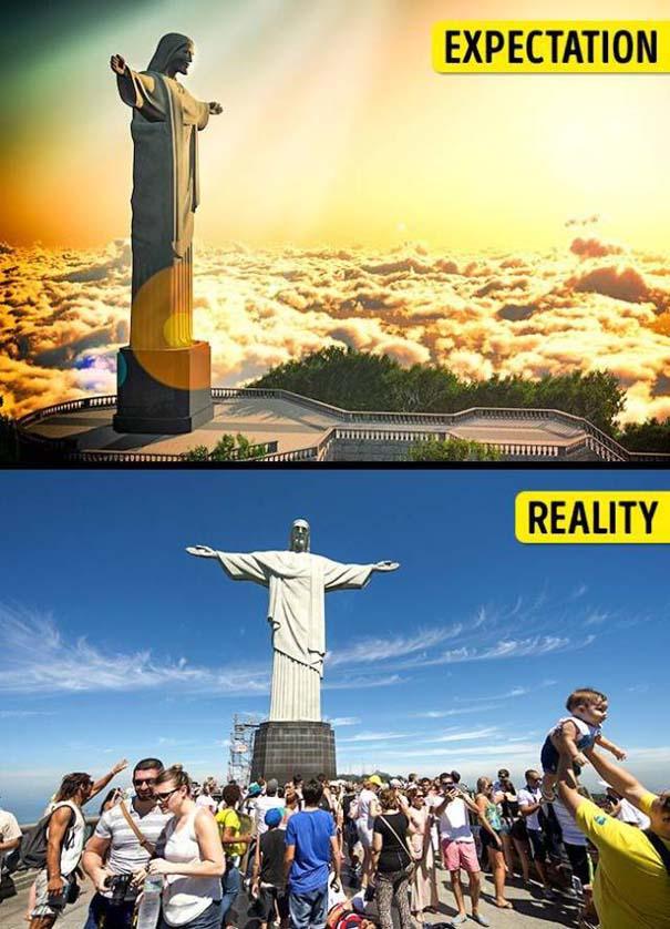 Διάσημα τουριστικά αξιοθέατα: Προσδοκίες vs πραγματικότητα (10)