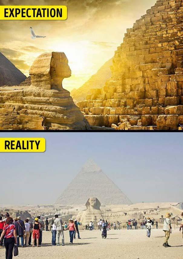 Διάσημα τουριστικά αξιοθέατα: Προσδοκίες vs πραγματικότητα (13)