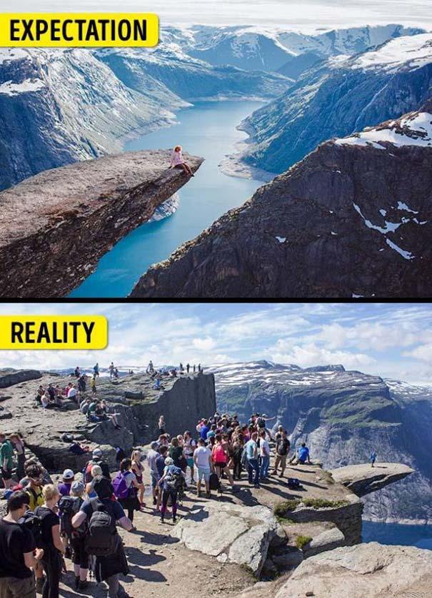 Διάσημα τουριστικά αξιοθέατα: Προσδοκίες vs πραγματικότητα (14)