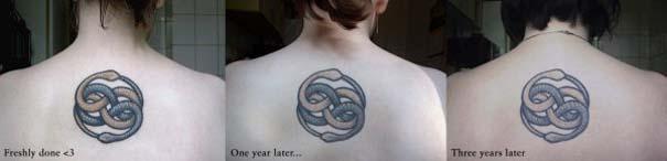 Φωτογραφίες δείχνουν πώς γίνονται τα τατουάζ μετά από καιρό (4)