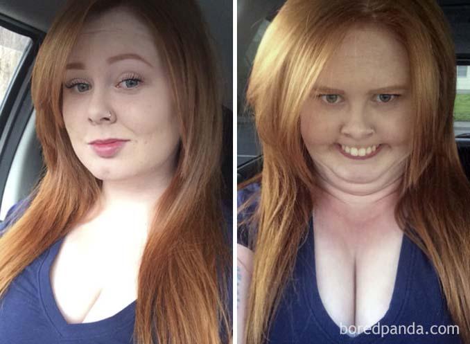 Φωτογραφίες που δεν θα πιστεύετε πως δείχνουν τις ίδιες γυναίκες (2)