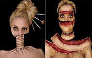 Γυναίκα αφιερώνει έως και 12 ώρες για να δημιουργήσει πάνω της απίθανες οφθαλμαπάτες (20)