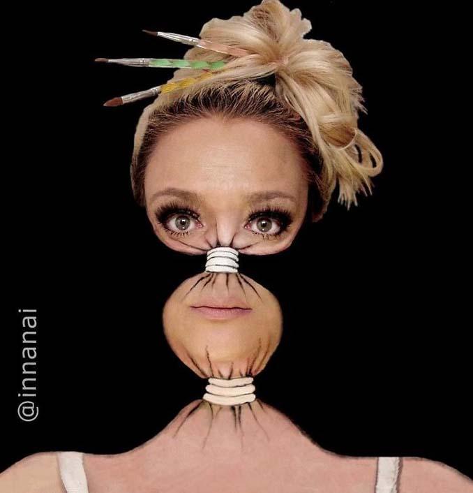 Γυναίκα αφιερώνει έως και 12 ώρες για να δημιουργήσει πάνω της απίθανες οφθαλμαπάτες (12)