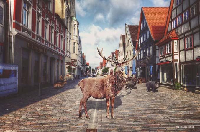 Καλλιτέχνης διασκεδάζει πειράζοντας την πόλη του με το Photoshop (1)