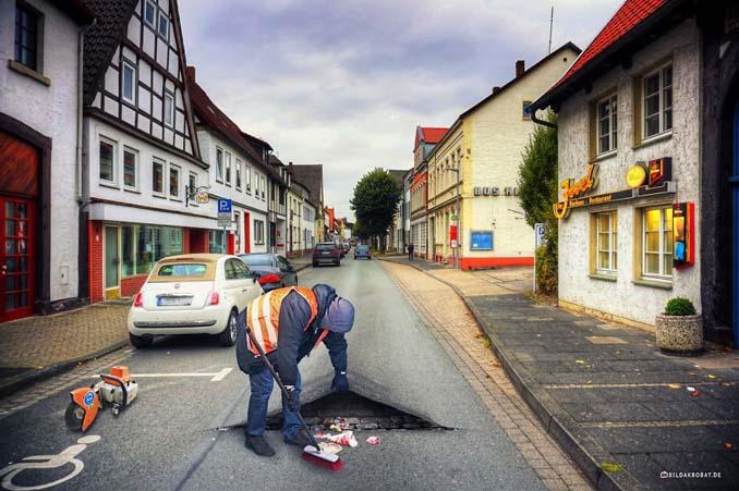 Καλλιτέχνης διασκεδάζει πειράζοντας την πόλη του με το Photoshop (4)